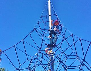 Harbrow Grove Reserve Climbing Net Copy