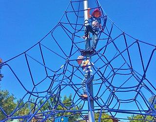 Harbrow Grove Reserve Climbing Net