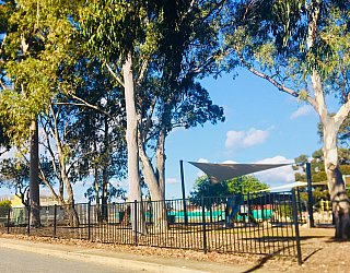 Warradale Park Reserve Fence 1