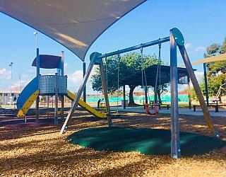 Warradale Park Reserve Swings 1