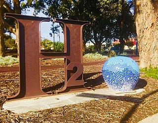 Harbrow Grove Reserve Sculpture H2O