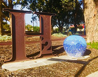 Harbrow Grove Reserve Sculpture H2O
