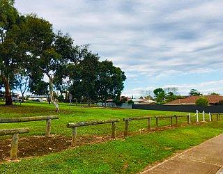 Strutt Court Reserve Fence 1