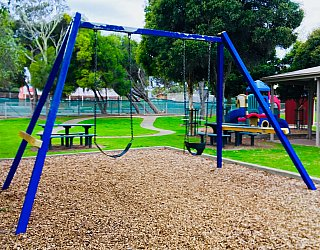 Hessing Crescent Reserve Playground Swings 1
