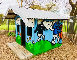 Hessing Crescent Reserve Playground Cubby 2