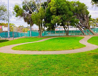 Hessing Crescent Reserve Playground Bike Circuit 1