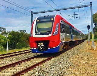 Kenton Avenue Reserve Train