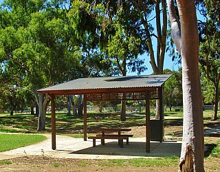 Kenton Avenue Reserve Shelter