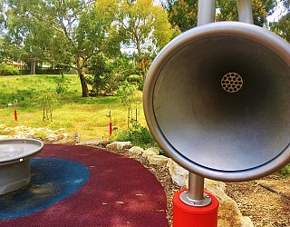 Kenton Avenue Reserve Playspace Talking Tube 5