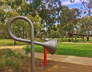 Kenton Avenue Reserve Playspace Talking Tube 2