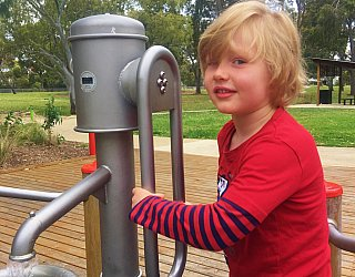 Kenton Avenue Reserve Playspace Pump Channel 7