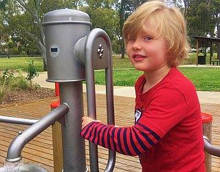 Kenton Avenue Reserve Playspace Pump Channel 7