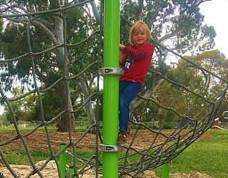 Kenton Avenue Reserve Playspaceclimbing Net 1