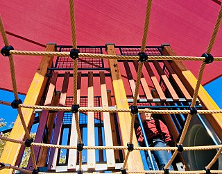 Appleby Road Reserve Playground Overhead Net 2