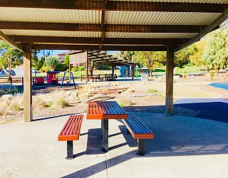 Glade Crescent Reserve Facilities Shelter Seating 2