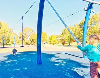 Glade Crescent Reserve Senior Playground Flying Fox 1 Eb Zb