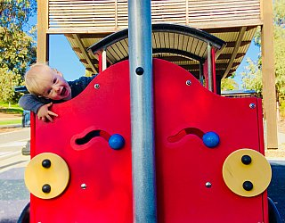 Glade Crescent Reserve Junior Playground Train 1 Eb