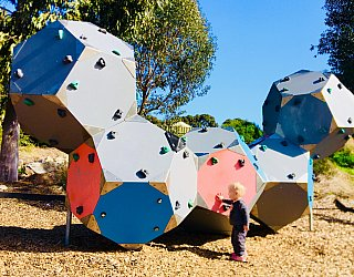 Glade Crescent Reserve Junior Playground Climbing Blocks 1 Eb