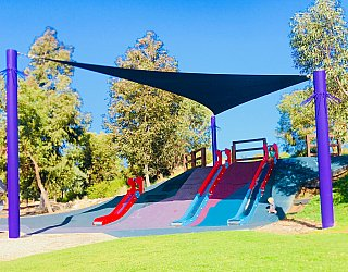 Glade Crescent Reserve Junior Playground Slides 4