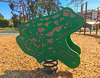 Woodforde Family Reserve Playground Springer Frog 1