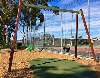Woodforde Family Reserve Playground Swings 1