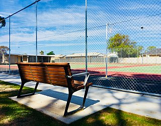 Woodforde Family Reserve Courts 2