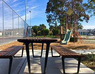 Woodforde Family Reserve Playground Facilities Picnic 1