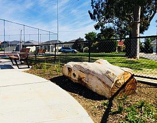 Woodforde Family Reserve Playground Log 1