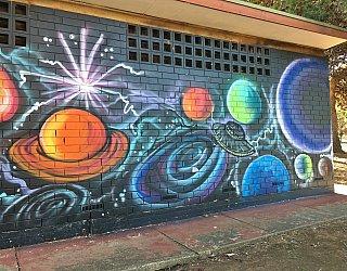 Nannigai Drive Reserve Toilet Mural 2