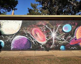 Nannigai Drive Reserve Toilet Mural 3