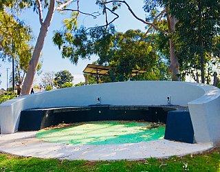 Oaklands Reserve Oaklands Recreation Plaza Skate Pod Seat 1