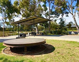 Oaklands Reserve Oaklands Recreation Plaza Facilities Seating 1