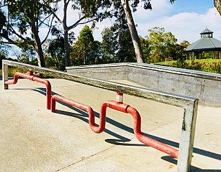 Oaklands Reserve Oaklands Recreation Plaza Skate Grind Pipe Bar 1