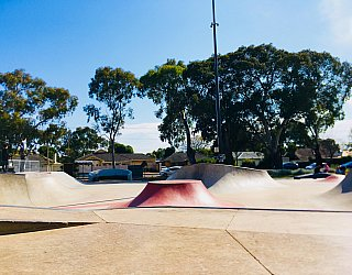 Oaklands Reserve Oaklands Recreation Plaza Skate Volcano 1