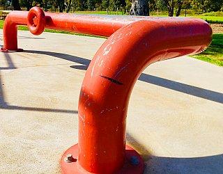 Oaklands Reserve Oaklands Recreation Plaza Skate Grind Pipe 1