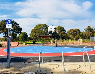 Oaklands Reserve Oaklands Recreation Plaza Facilities Bike Station 2