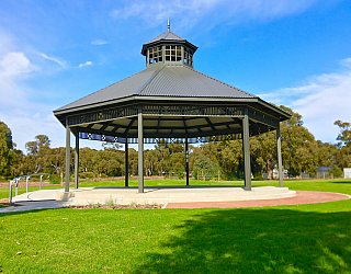 Oaklands Reserve Oaklands Recreation Plaza Rotunda Space Rotunda 2