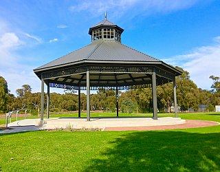 Oaklands Reserve Oaklands Recreation Plaza Rotunda Space Rotunda 2