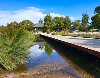 Oaklands Reserve Oaklands Recreation Plaza Rotunda Space Boardwalk 1