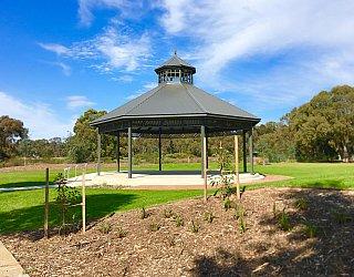 Oaklands Reserve Oaklands Recreation Plaza Rotunda Space Rotunda 1