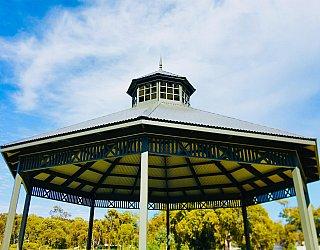 Oaklands Reserve Oaklands Recreation Plaza Rotunda Space Roof 1