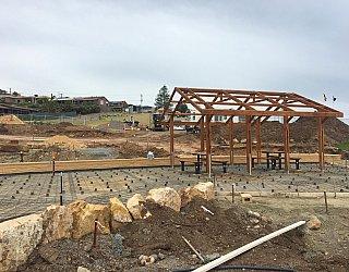 Heron Way Reserve Construction Sepember 2018 6