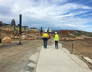 Heron Way Reserve Construction September 2018 5
