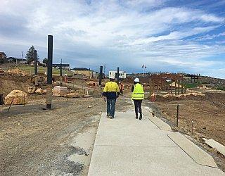 Heron Way Reserve Construction September 2018 5