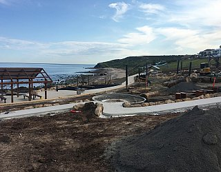 Heron Way Reserve Construction September 2018 2