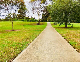 Bombay Avenue Reserve Facilities Path 2
