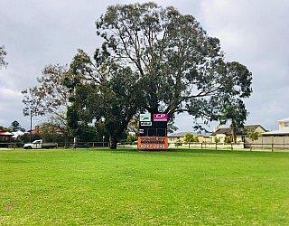 Kellett Reserve Oval Score Board 2