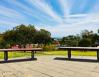 Mostyn Road Reserve Facilities Seats 1
