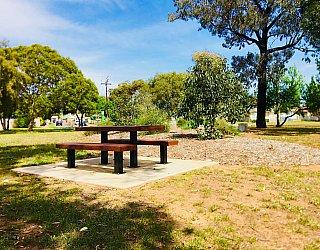 Waratah Square Reserve Facilities Picnic Table 1
