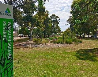 Waratah Square Reserve Sign 3
